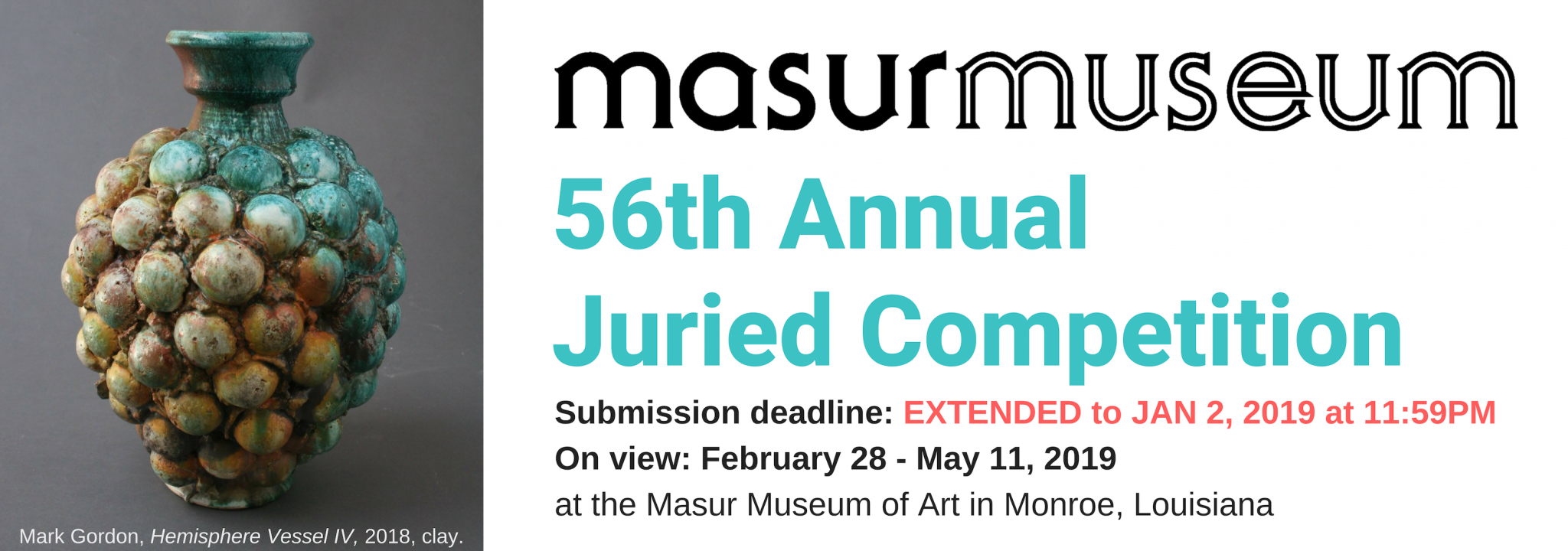 Masur Juried Competition Submission Website
